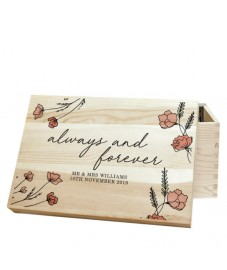 Personalised 'Always and Forever' Memory Box