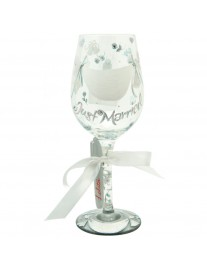 Lolita Just Married Wine Glass