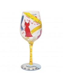 Lolita Kind Of On A Diet Wine Glass
