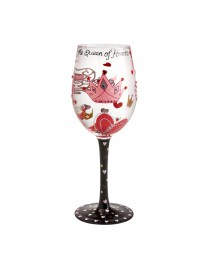 Lolita Queen of Hearts Wine Glass