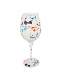 Lolita Sunglass Cooler Wine Glass