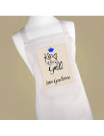 Personalised King of the Grill Apron
