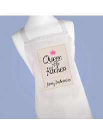 Personalised Queen of the Kiychen Apron